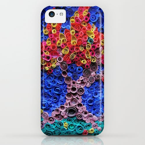 The art-like design on this iPhone case ($35) is one of the coolest depictions of Fall leaves out there.
