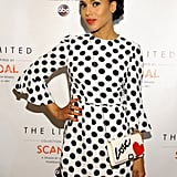Kerry Washington attended a fashion launch event in LA on Tuesday.