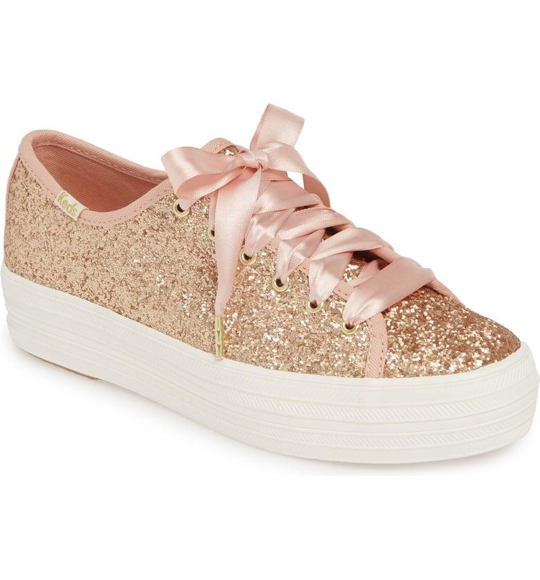 Keds x Kate Spade New York Triple Kick Glitter Sneakers