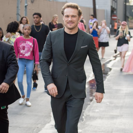 Sam Heughan in LA July 2018