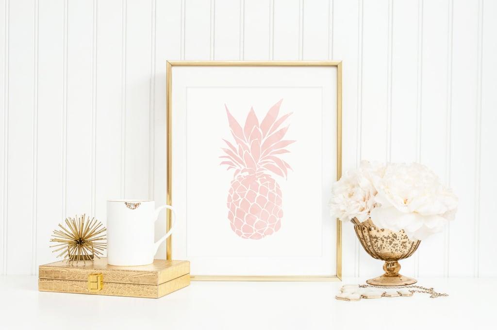 Pineapple Art Print ($18)