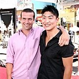 Pictured: Lucas Black and Brian Tee