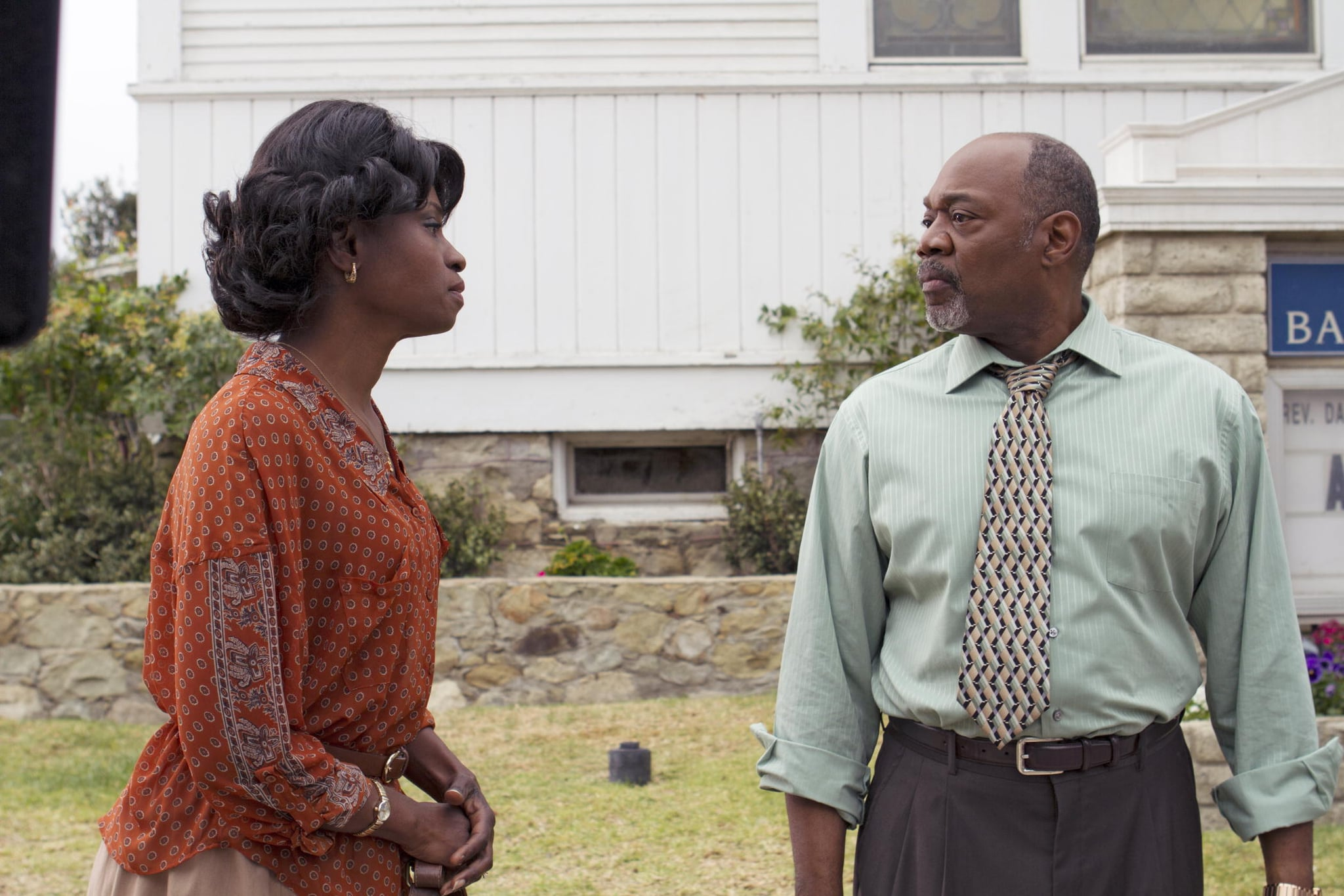 Lettie Mae and Reverend Daniels