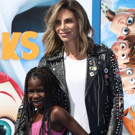 Jillian Michaels and Daughter at Storks Premiere 2016