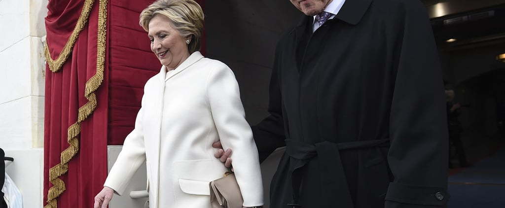 Hillary Clinton Sent a Strong Message With Her Inauguration Outfit
