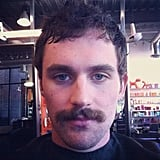 Kevin Love tried out a new look for the medal rounds. Source: Instagram user kevinlove