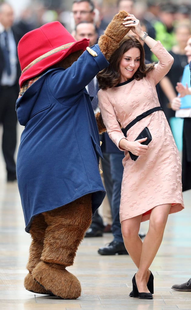 She Danced With Paddington Bear . . . in Front of Prince William