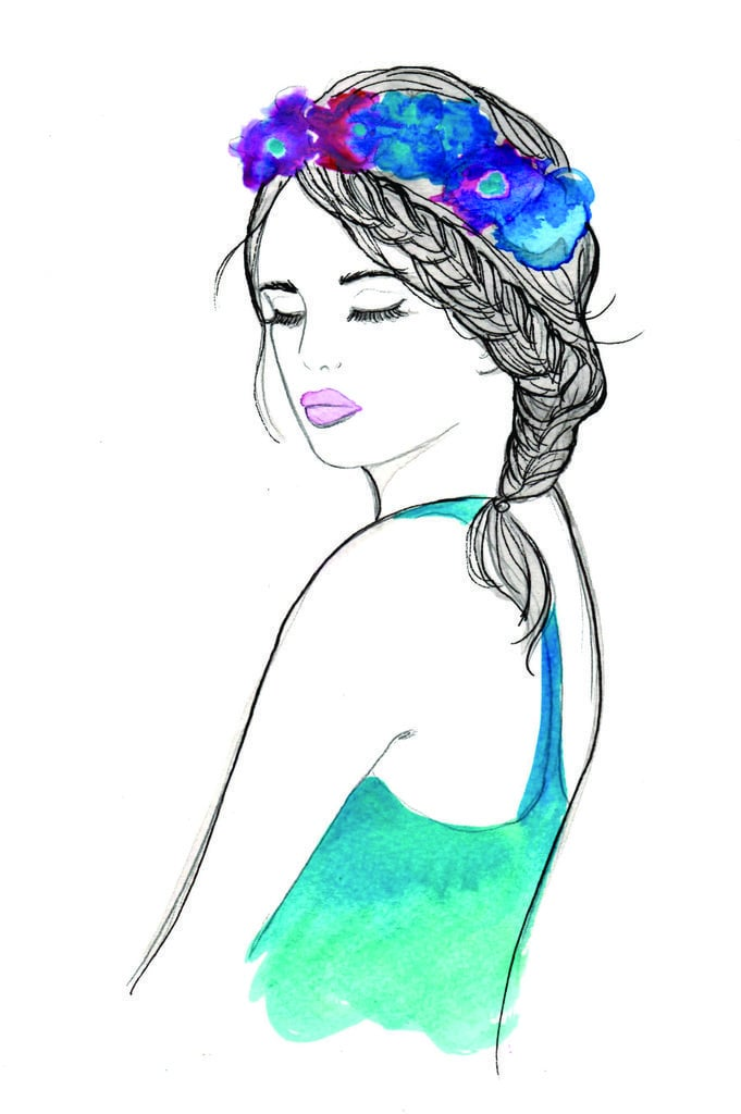 Cute Braid Illustrations