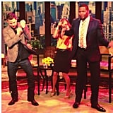 Channing Tatum didn't hold back his moves during a stop on Live! With Michael and Kelly in NYC in June. Click here to watch. Source: Instagram user channingtatum