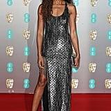 Naomie Harris at the 2020 British Academy Film Awards