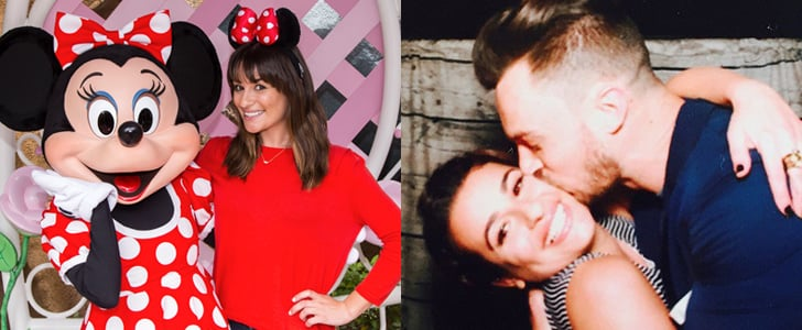 Lea Michele Has a Sweet Day at Disneyland With Matthew Paetz — and Minnie Mouse!