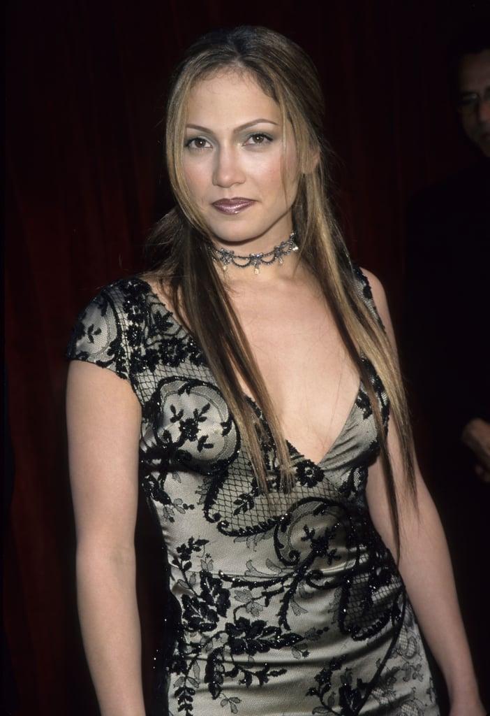 Jennifer Lopez 1996 Worst Oscars Hair And Beauty