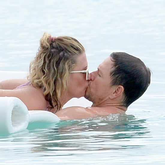 Mark Wahlberg Shirtless in Barbados Pictures December 2017