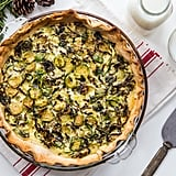 Roasted Brussels Sprouts Quiche