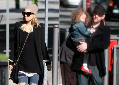 Nicole Richie and Joel Madden were spotted heading to Hugo's in West Hollywood, CA on Thursday (December 30).