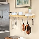 Wall Mounted Pot Rack