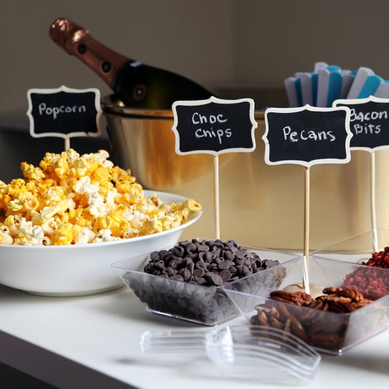 How to Set Up a DIY Popcorn Bar