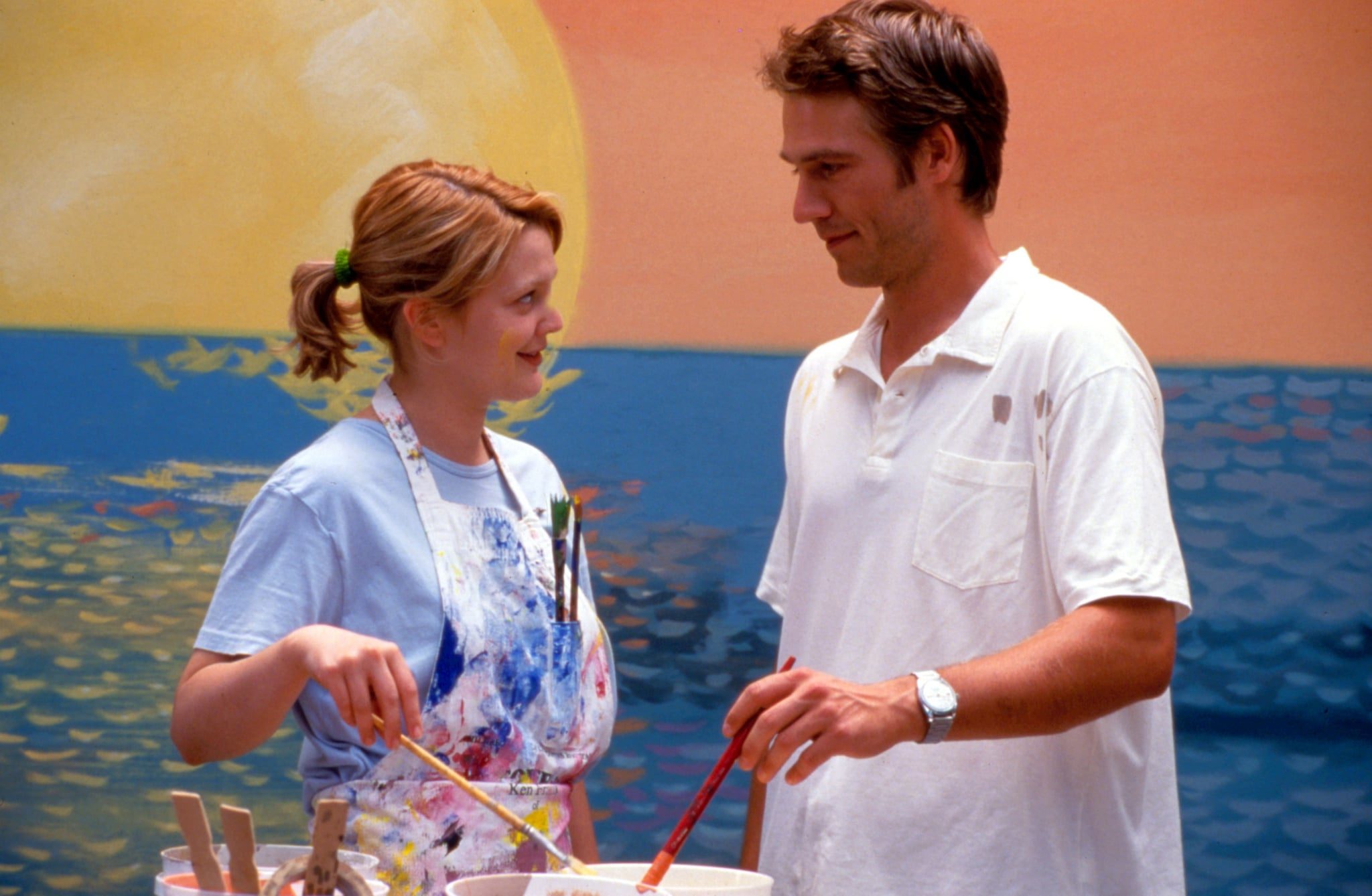 NEVER BEEN KISSED, Drew Barrymore, Michael Vartan, 1999, TM & Copyright (c) 20th Century Fox Film Corp. All rights reserved.