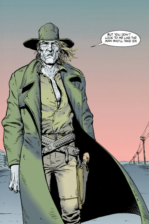 The Cowboy in the comics
