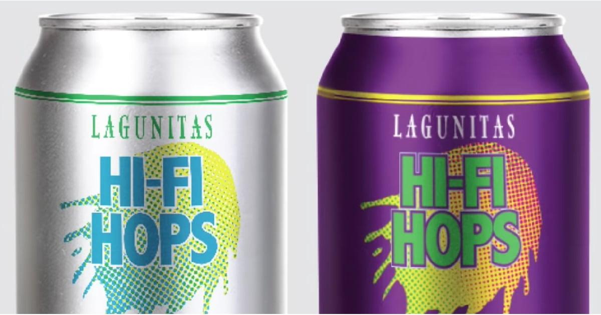 Lagunitas Hi-Fi Hops Cannabis-Infused Sparkling Water