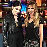 Andy Cohen snapped a shot of his guests, Gossip Girl's Michelle Trachtenberg and Real Housewives of New York City's Carole Radziwell. Source: Andy Cohen on WhoSay