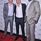 Chris Hemsworth, Channing Tatum, and Joe Manganiello attended an event in NYC.