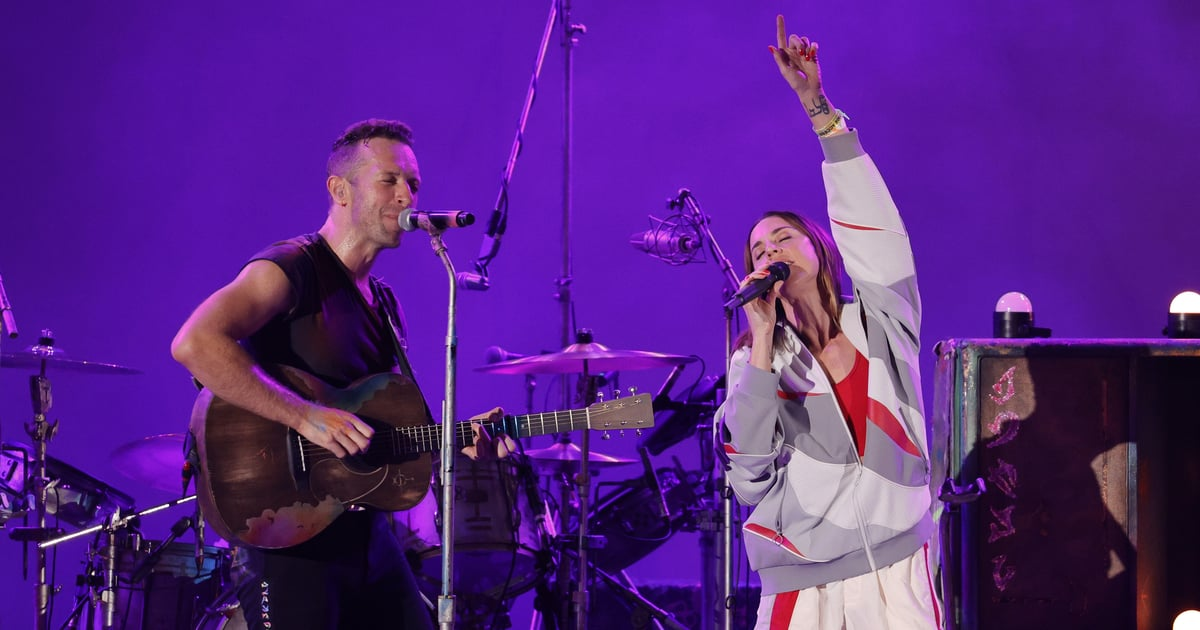 """Chris Martin Performed """"2 Become 1"""" With Mel C, and It's the Duet We Never Knew We Needed.jpg"""