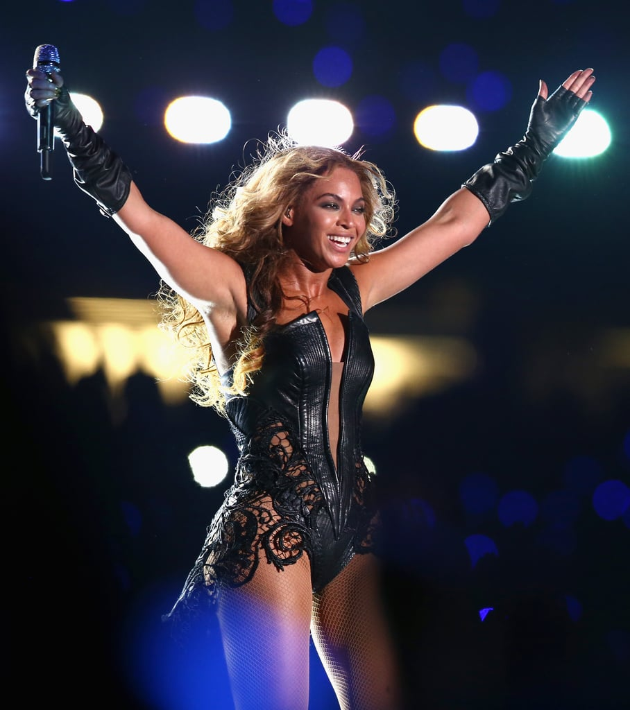 Rubin Singer's costume was designed with warrior armor in mind — seeing Beyoncé take the stage, you could see those sexy, strong, powerful comparisons come through.