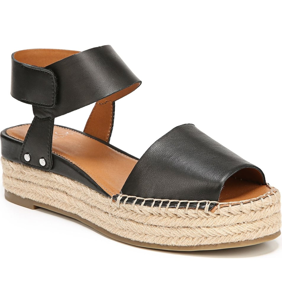 138ec3fe42d Sarto by Franco Sarto Oak Platform Wedge Espadrille | Cute Sandals ...