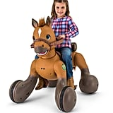 For 4-Year-Olds: 12-Volt Rideamals Scout Pony