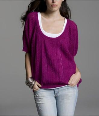 Fab Finger Discount: Express Open-Knit Sweater