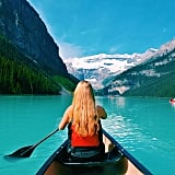 Go Canoeing on Lake Louise in Canada