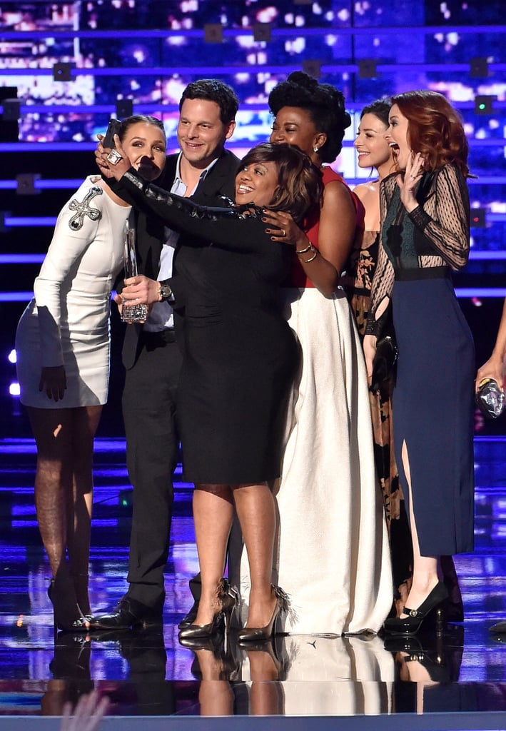 Chandra Wilson Took A Selfie From The Stage Greys Anatomy Cast