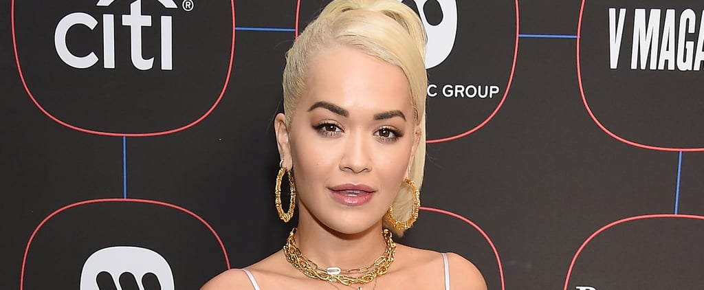 Rita Ora's Gold Tooth