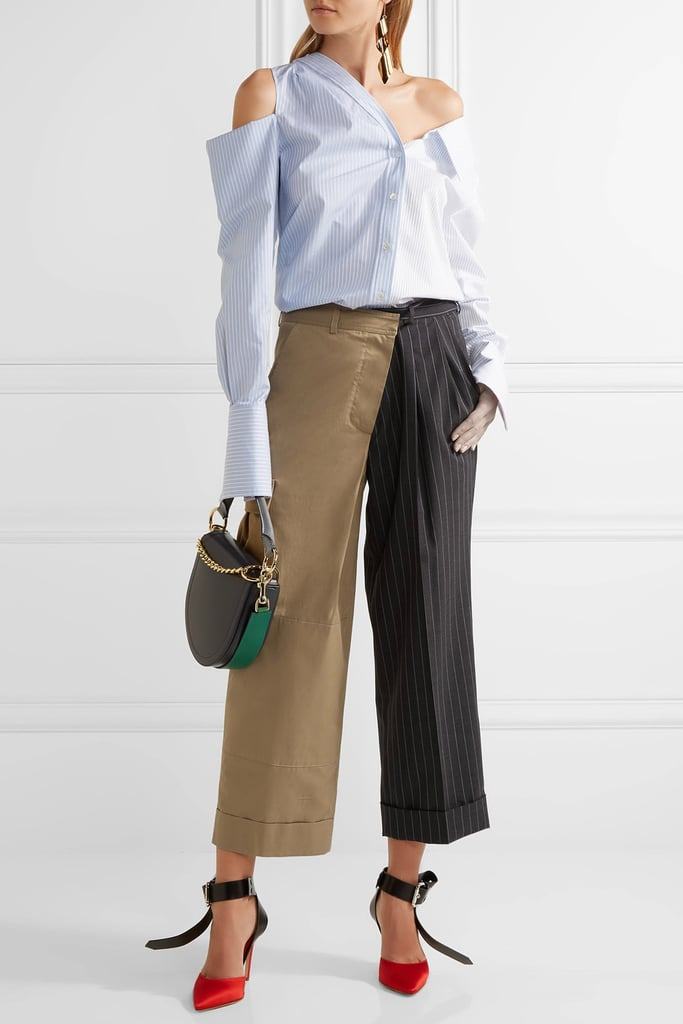 Can't decide between two prints or colors? Wear both in Monse's cotton-twill pants ($1,290).