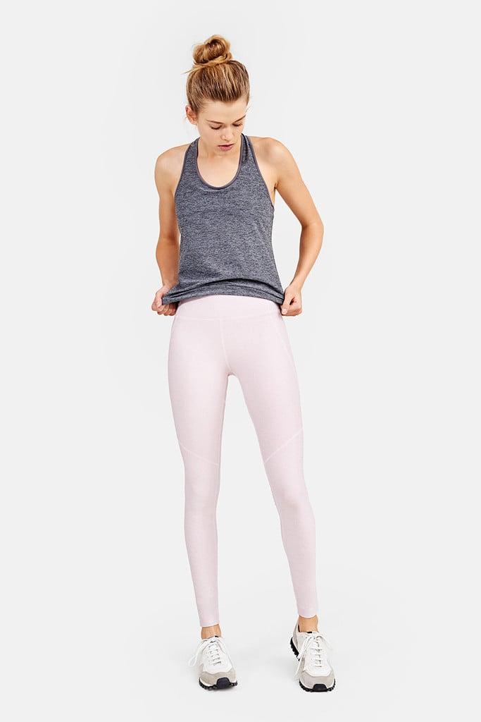 Warmup Legging — Chalk Pink