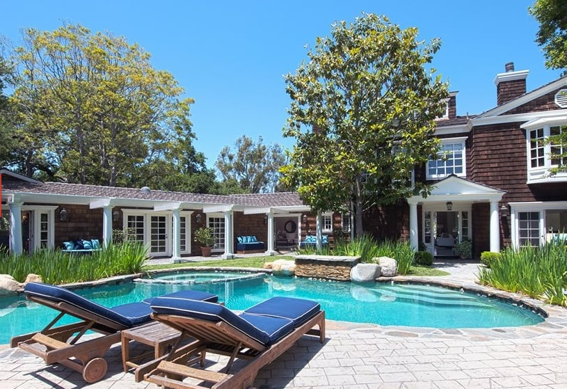 Channing tatum house photos popsugar home for Spas that come to your house