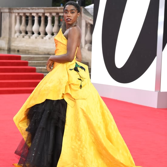 Lashana Lynch's Yellow Dress at the No Time to Die Premiere