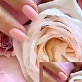 Kourtney Kardashian's Baby Pink Nail Polish Color