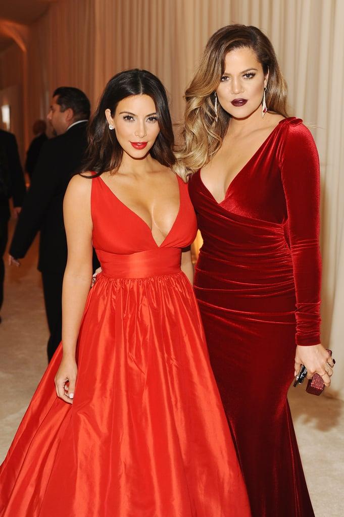 The Kardashians at Elton John's Oscar Party 2014