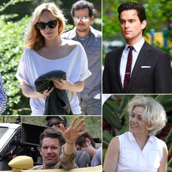 Dakota Johnson, Matthew Bomer, Amy Adams, and More Stars on Set