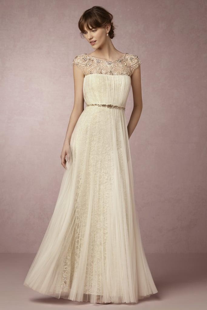 Tiernan Gown (£1,493) | BHLDN x Marchesa Wedding Dress Collaboration ...