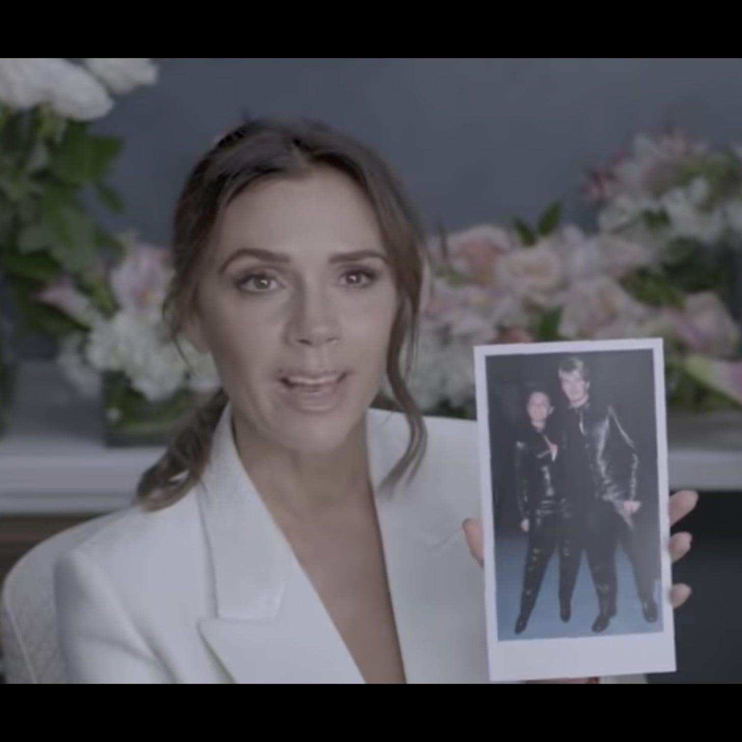 03cd53f688 Victoria Beckham Vogue Video November 2018 | POPSUGAR Fashion
