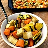 Roasted Tofu, Delicata Squash, and Carrot