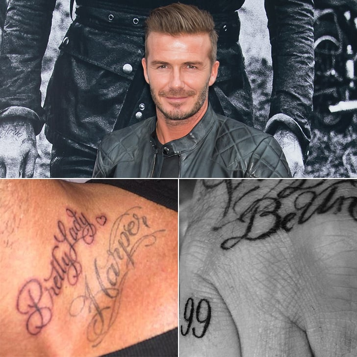 Your Ultimate Guide to David Beckham's Tattoos