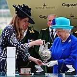 Princess Eugenie and the Queen, 2016