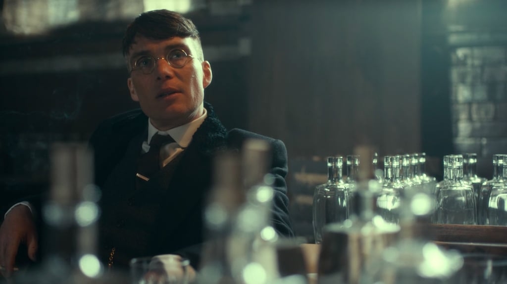 Thomas Shelby in Glasses on Peaky Blinders