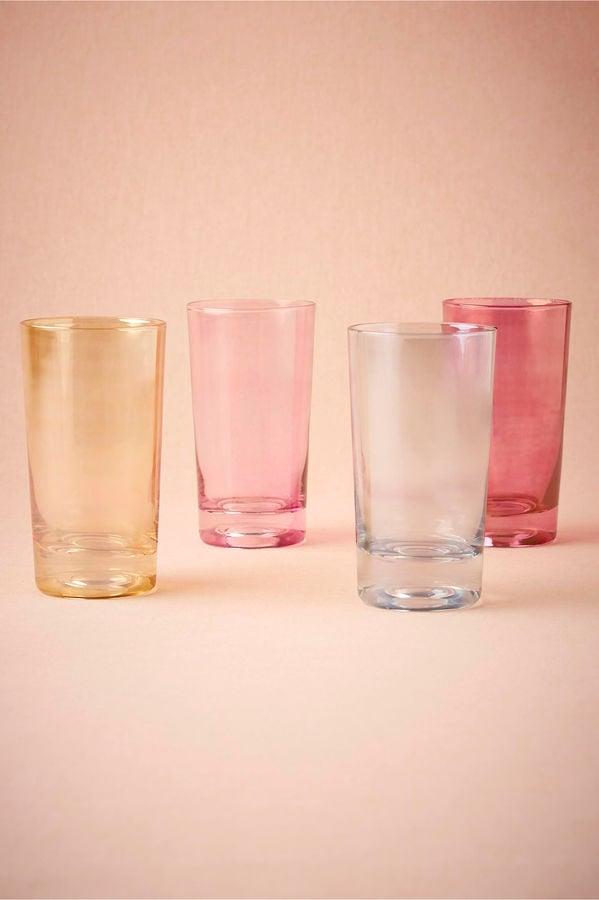 BHLDN Stained Glass Highball Glasses