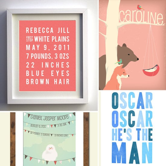 It\'s All About Me: Personalized Nursery Wall Art | Best Kids\' Trends ...