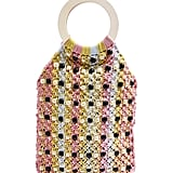Topshop Mini Mykonos Beaded Tote